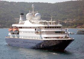 SeaDream 1 cruise yacht