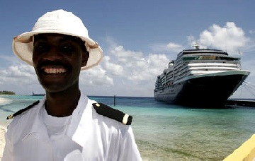 Cruise ship security guard