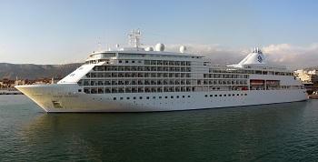 Cruise ship jobs news - Silversea Cruises Silver Whisper ship