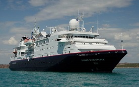 Silver Discoverer expedition cruise ship
