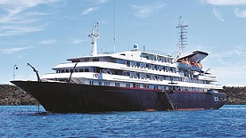 Silver Galapagos expedition cruise ship