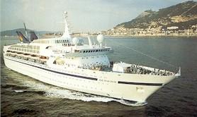 Seawing cruise ship