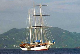 The North Sound of Virgin Gorda in the British Virgin Islands