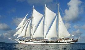 Mandalay tall ship