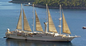 Windstar Curises Wind Star tall ship