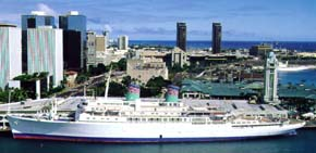 American Hawaii Cruises-Independence ship