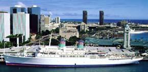 American Hawaii Cruises-Independence ship