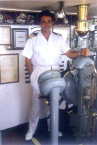 Cruise ship engineer