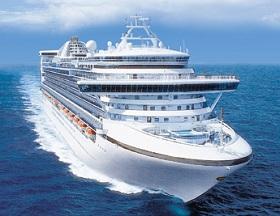 Caribbean Princess cruise ship. Princess Cruises