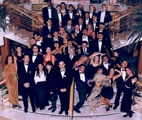 Cruise ship-Entertainment Department staff