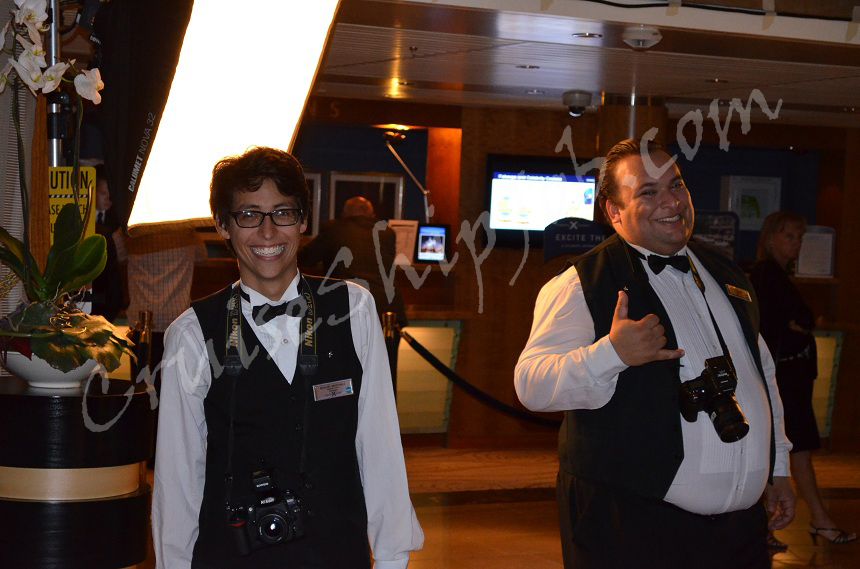 Hired Cruise Job Seekers Photos - Ship Photographer aboard Celebrity Cruises Millennium