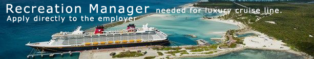 Cruise Ship Culinary Jobs - Chef, Cook employment on cruise