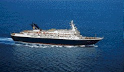 Triton cruise ship
