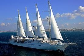 Wind Star tall ship